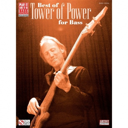 Hal Leonard - The Best of Tower of Power for Bass - The Best of Tower of Power for Bass - Lehrbuch f. E-Bass (englisch)
