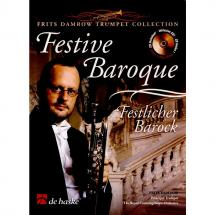 De Haske Frits Damrow - Festive Baroque - Festive Baroque - Trumpet And Piano - Songbook f. Trompete