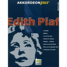 Holzschuh - Akkordeon Pur: Edith Piaf Songbook f. Akkordeon