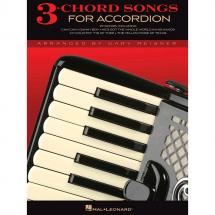 Hal Leonard - 3-Chord Songs For Accordion Songbook f. Akkordeon
