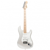 Fender Deluxe Stratocaster HSS iOS Blizzard Pearl MN