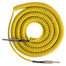 Lava Cable Retro Coil Yellow Instrumentenkabel, gelb
