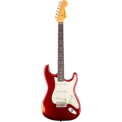 Fender Custom Shop 1963 Relic Stratocaster Candy  Apple Red RW