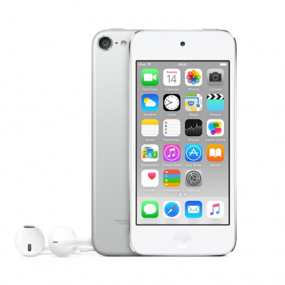 Apple MKH42NF/A iPod Touch 16GB, Silberfarben