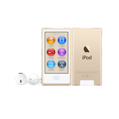 Apple MKMX2ZD/A iPod 16GB, goldfarben