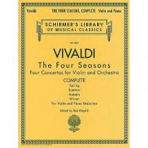G. Schirmer - Vivaldi: The Four Seasons - für Violine & Klaviere