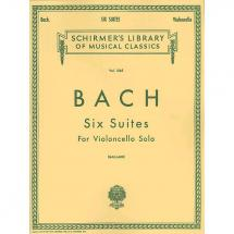 G. Schirmer - J.S. Bach: Six Suites  f. Cello