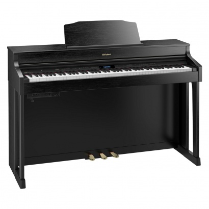 Roland HP603 CB Contemporary Black digital piano