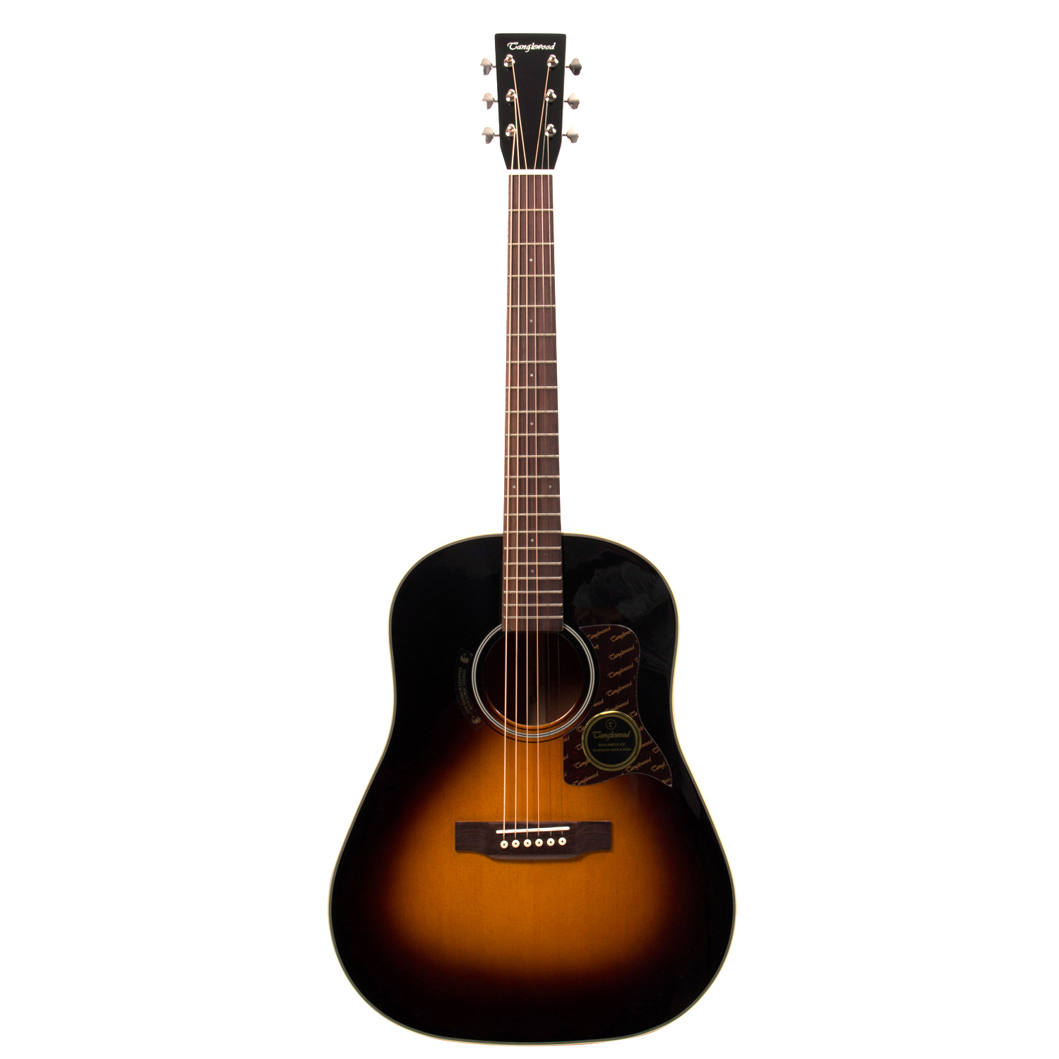Tanglewood tw40 sd vs e westerngitarre mit tonabnehmer for The tanglewood