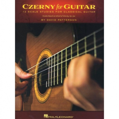 Hal Leonard - Czerny for Guitar - 12 Scale Studies