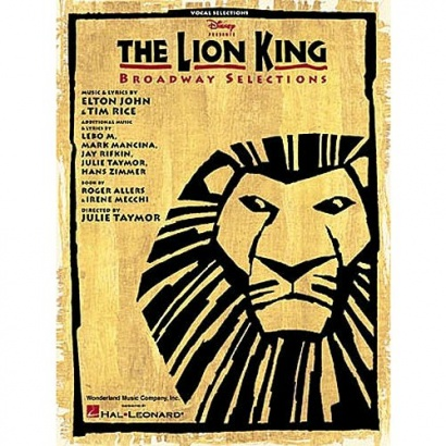 MusicSales - The Lion King: Broadway Selections Songbook (PVG)