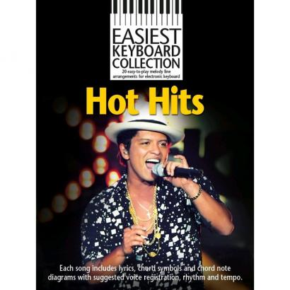 Wise Publications - Easiest Keyboard Collection: Hot Hits