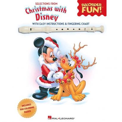 Hal Leonard - Christmas With Disney für Blockflöte