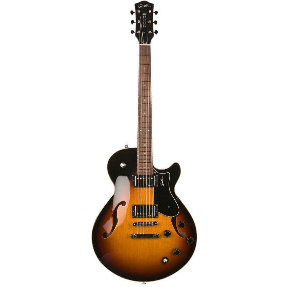 godin montreal premiere tripleplay sunburst hg gitarre kaufen bax shop. Black Bedroom Furniture Sets. Home Design Ideas