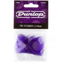 Dunlop 473P200 Tri Stubby Player's Pack 2 mm Plektren Set