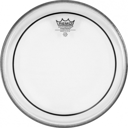 Remo PS-0318-00 Pinstripe Clear 18 Zoll Floortomfell