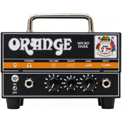 Orange Micro Dark Head Gitarren-Topteil