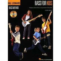 Hal Leonard - Chad Johnson: Bass For Kids
