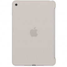 Apple iPad mini 4 Silikonhülle, steingrau