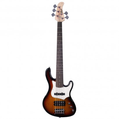 Cort GB35A  aktiver E-Bass, 3-Tone Sunburst