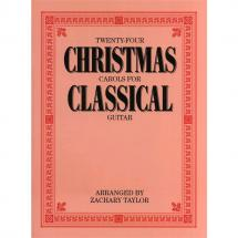 Wise Publications - 24 Christmas Carols For Classical Guitar