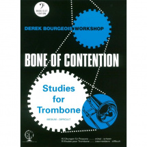 MusicSales - Derek Bourgeois: Bone Of Contention für Posaune