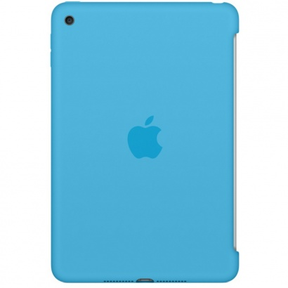 Apple MLD32ZM/A iPad mini 4 Silikonhülle, blau