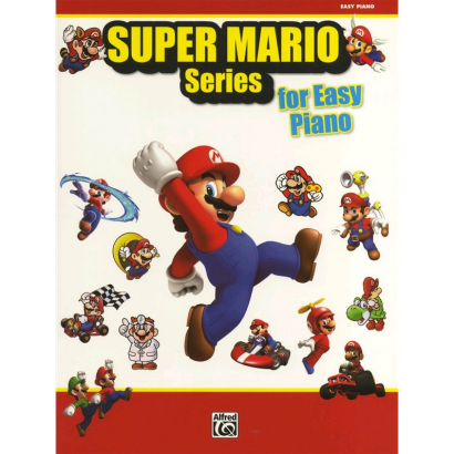 Alfreds Music Publishing - Super Mario Series - Easy Piano