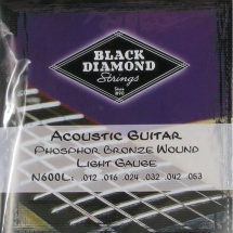 Black Diamond Strings N600L Phosphor Bronze Saitensatz f. Westerngitarre