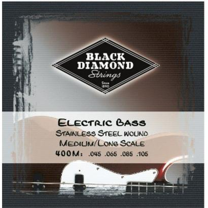 Black Diamond Strings N400M Stainless Steel Saitensatz f. E-Bass