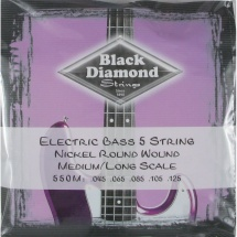 Black Diamond Strings N550M Nickel Saitensatz f. E-Bass
