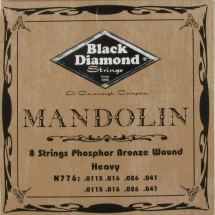 Black Diamond Strings N776 Phosphor Bronze Saitensatz f. Mandoline
