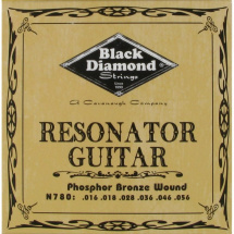 Black Diamond Strings N780 Phosphor Bronze Saitensatz f. Dobro/Resonatorgitarren