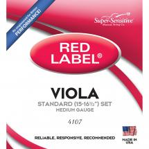 Super Sensitive Strings 4107 Red Label Viola Saitensatz f. Bratsche