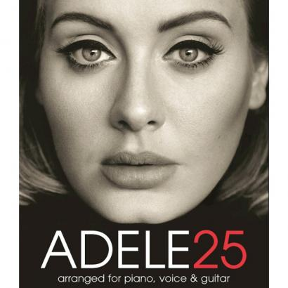 Wise Publications - Adele 25 - Songbook für Piano, Gesang, Gitarre