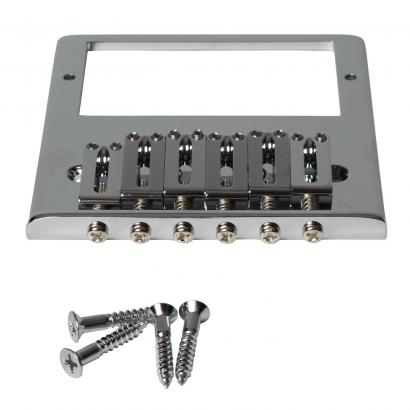 Gotoh High Mass Bridge Brücke f. TE-Modelle m. Humbucker, verchromt