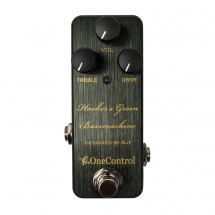 One Control Hooker's Green Bassmachine Overdrive Pedal
