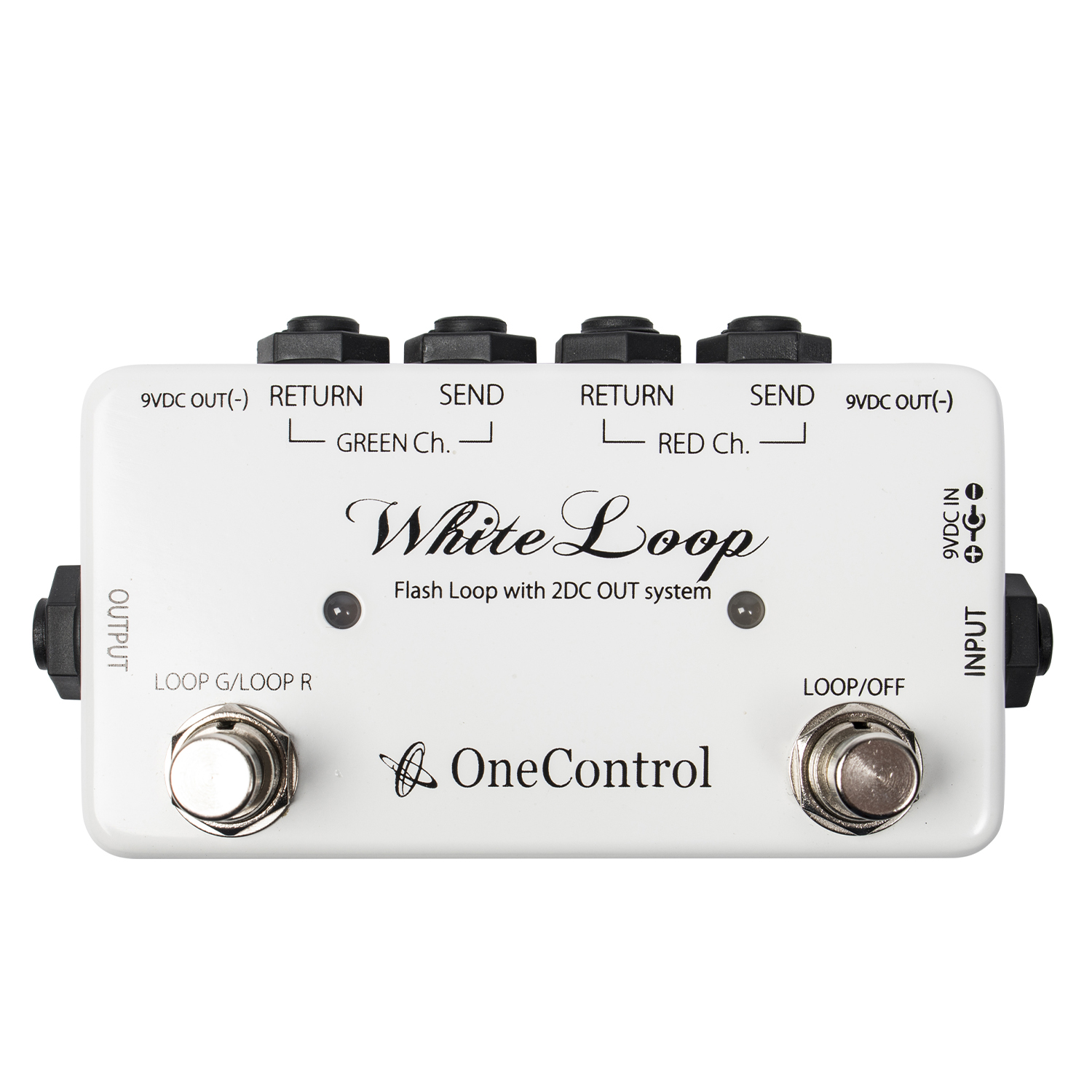 One Control White Loop Signalsplitter Pedal