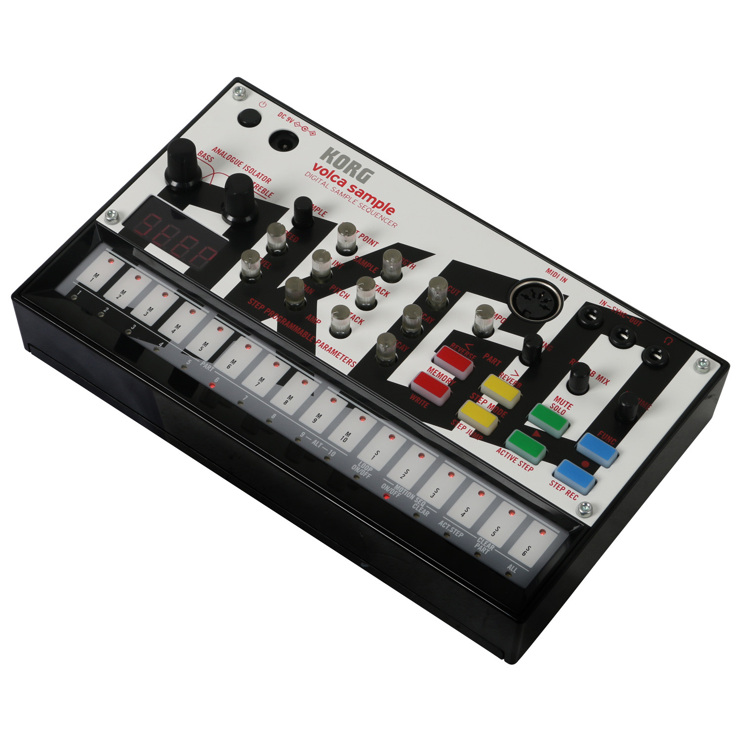 how to delete sample from volca sample