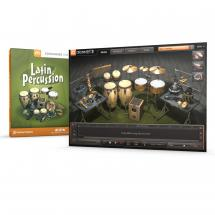 Toontrack Latin Percussion EZX virtuelle Percussion (Download)