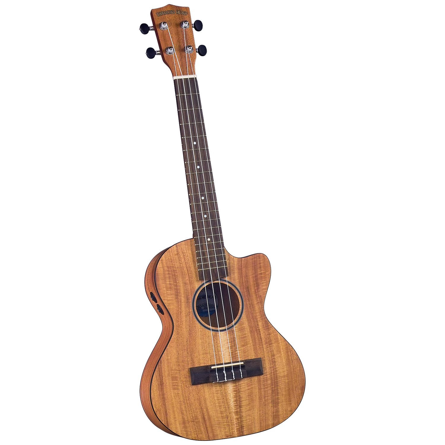 Diamond Head DU 350TCE Flamed Acacia E A Tenor Ukulele