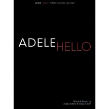 Wise Publications - Adele: Hello (PVG) für Piano, Gesang, Gitarre