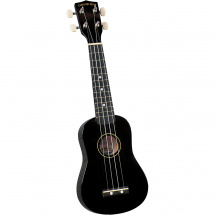 Diamond Head DU-100  Rainbow Sopran-Ukulele, schwarz
