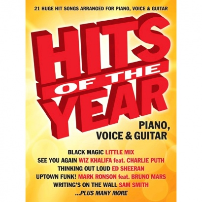 Wise Publications - Hits Of The Year 2015 (PVG)
