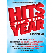 Wise Publications - Hits Of The Year 2015 für Easy Piano