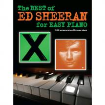 Wise Publications - The Best of Ed Sheeran for Easy Piano