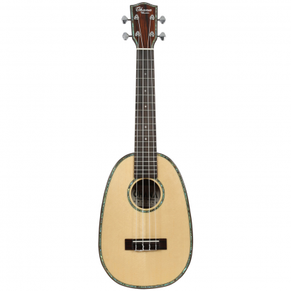 Ohana PKC-70G Pineapple Ukulele Natural