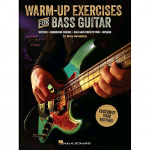 Hal Leonard - Warm-Up Exercises for Bass Guitar
