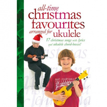 MusicSales - All-Time Christmas Favourites Arranged for Ukulele