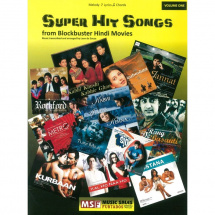MusicSales - Super Hit Songs from Blockbuster Hindi Movies, Songbook (englisch)